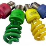 lampada colorida